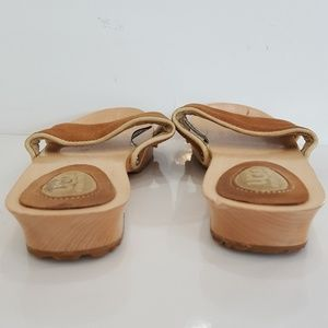 UGG Shoes - UGG Australia Womens Open Toe Wooden Wedge Sandals